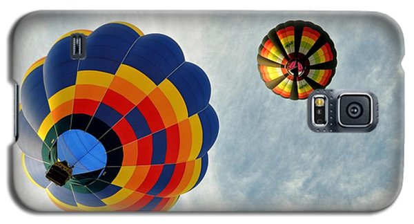Galaxy S5 Case featuring the photograph Balloons On The Rise by Rick Frost