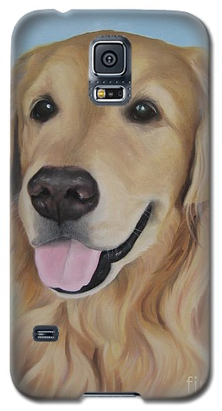 Galaxy S5 Case featuring the painting Baltazar by Jindra Noewi