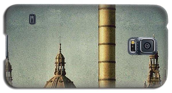 Fantasy Galaxy S5 Case - Barcelona - Montjuïc by Joel Lopez