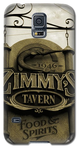 Galaxy S5 Case featuring the photograph Barhopping At Zimmys 2 by Lee Craig