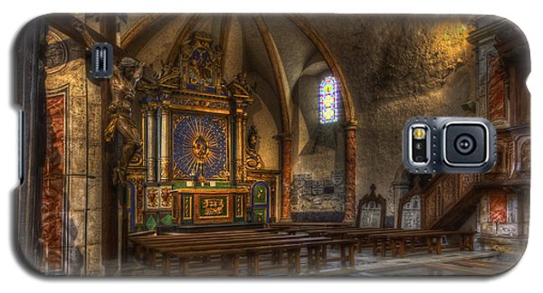 Baroque Church In Savoire France 2 Galaxy S5 Case by Clare Bambers