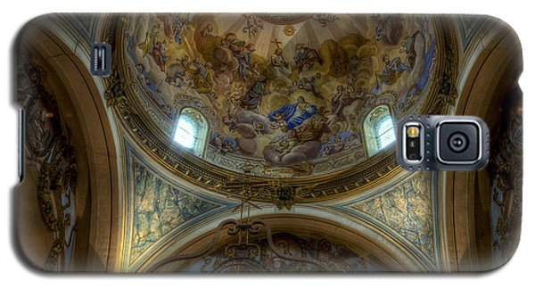 Baroque Church In Savoire France 5 Galaxy S5 Case by Clare Bambers
