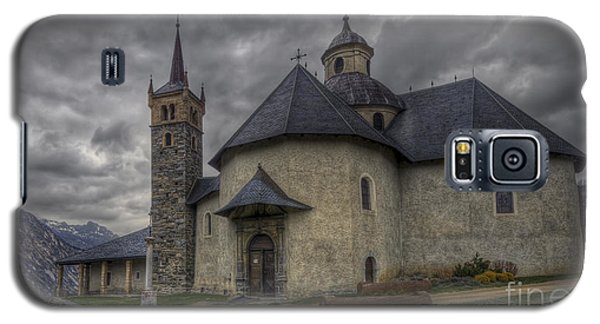 Baroque Church In Savoire France 6 Galaxy S5 Case by Clare Bambers
