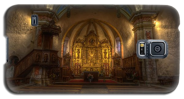 Baroque Church In Savoire France Galaxy S5 Case by Clare Bambers