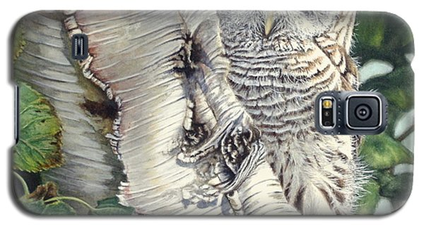 Barred Owl II Galaxy S5 Case