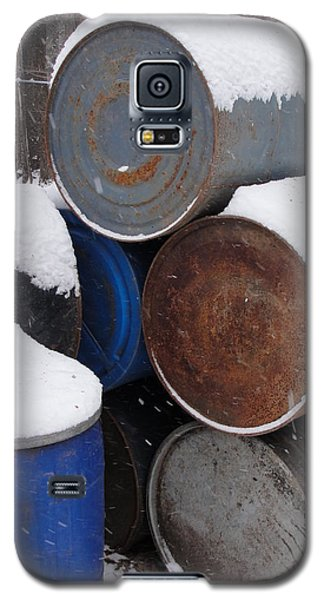 Galaxy S5 Case featuring the photograph Barrel Of Food by Tiffany Erdman