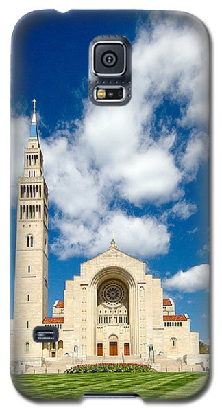 Basilica Of The National Shrine Of The Immaculate Conception Galaxy S5 Case by Dan Wells