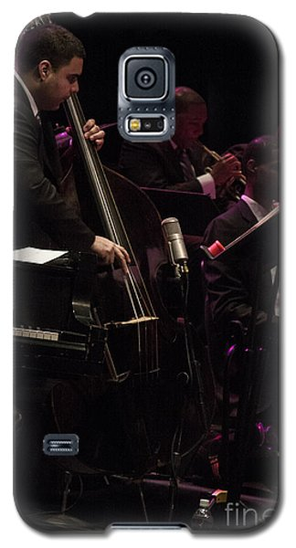 Bass Player Jams Jazz Galaxy S5 Case by Darleen Stry