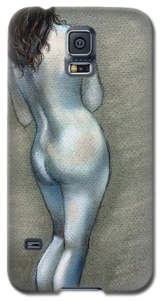 Galaxy S5 Case featuring the drawing Bath Time by Julie Brugh Riffey