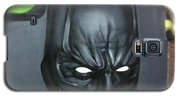 Superhero Galaxy S5 Case - #batman By #jodyt During by Nigel Brown