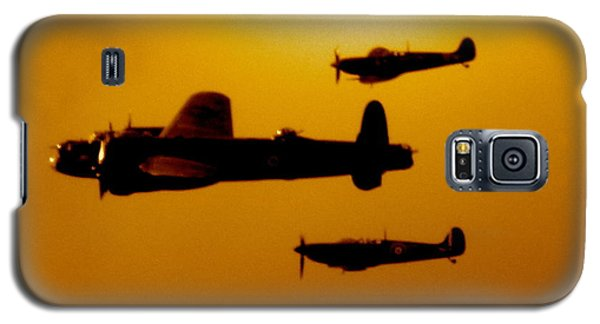 Galaxy S5 Case featuring the photograph Battle Of Britain Flight At Dusk by John Colley