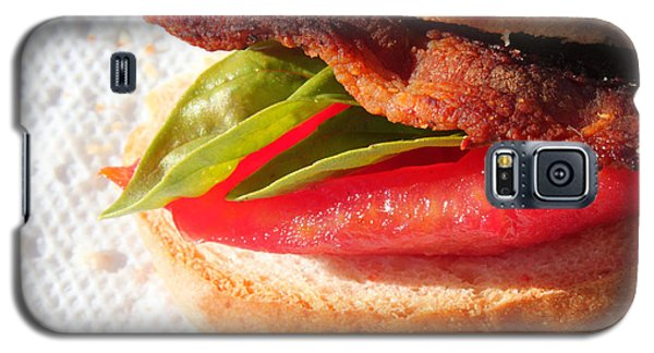 Bbt Bacon Basil Tomato Galaxy S5 Case