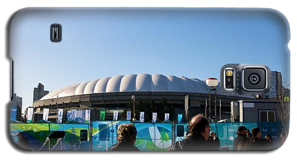 Galaxy S5 Case featuring the photograph Bc Place by JM Photography