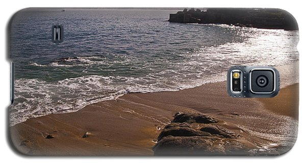 Beach At Monteray Bay Galaxy S5 Case by Darcy Michaelchuk