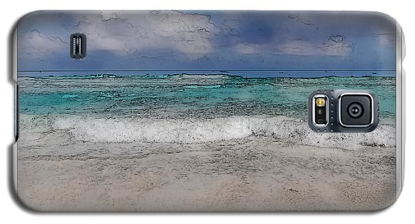Beach Background Galaxy S5 Case