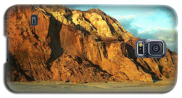 Beach Cliff At Sunset Galaxy S5 Case