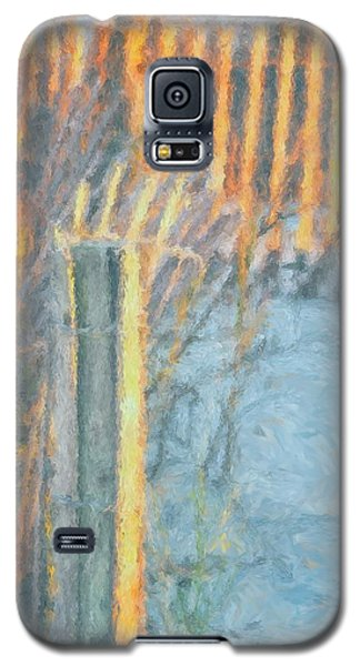 Galaxy S5 Case featuring the photograph Beach Fence by Lynne Jenkins
