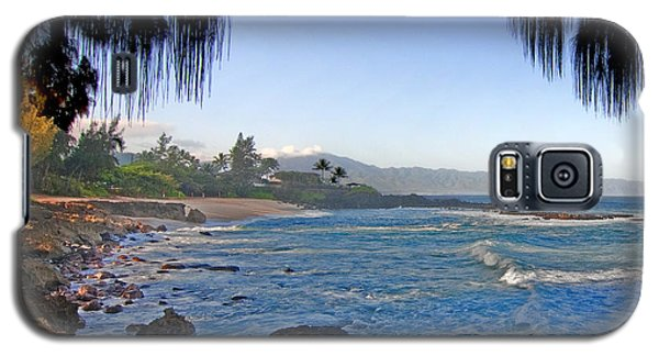 Beach On North Shore Of Oahu Galaxy S5 Case