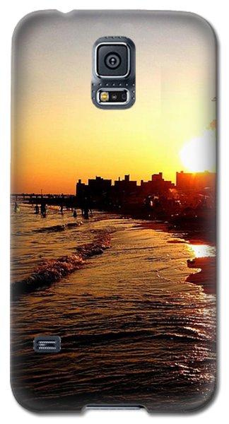 Beach Sunset - Coney Island - New York City Galaxy S5 Case