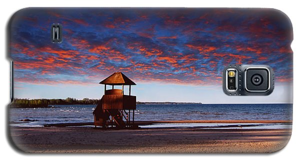 Beach Sunset Galaxy S5 Case