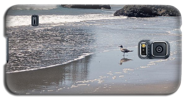 Galaxy S5 Case featuring the photograph Beachcomber by Sharon Elliott