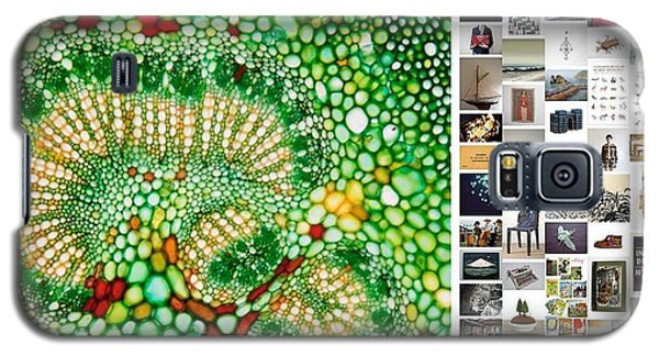 Galaxy S5 Case featuring the photograph Beads Of Green by Holley Jacobs