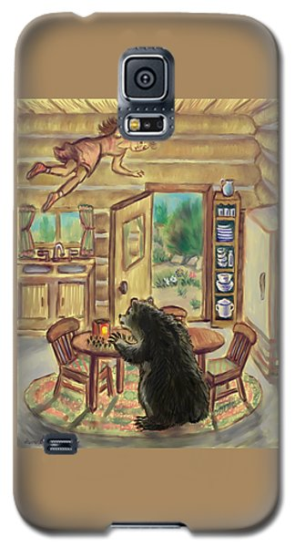 Bear In The Kitchen - Dream Series 7 Galaxy S5 Case