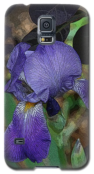 Galaxy S5 Case featuring the photograph Bearded Iris by Michael Friedman