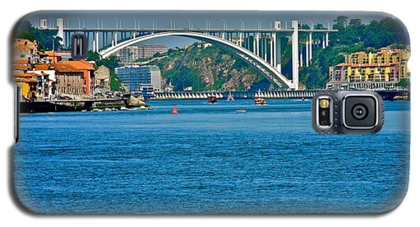Galaxy S5 Case featuring the photograph Beautiful Bridge In Porto by Kirsten Giving