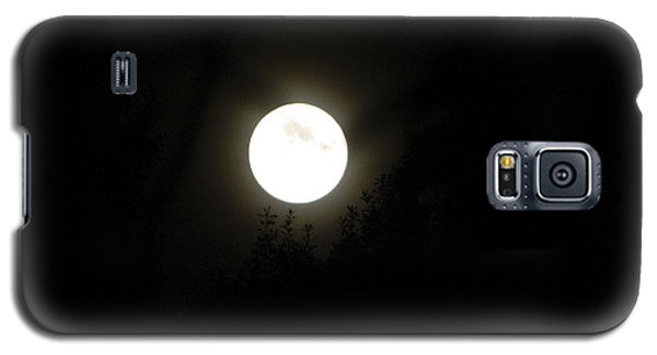 Galaxy S5 Case featuring the photograph Beautiful Full Moon by Ester  Rogers
