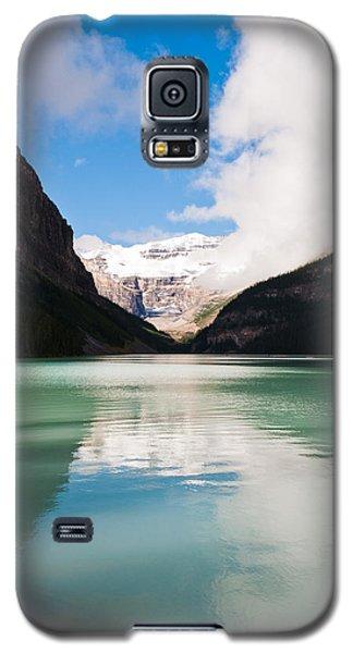 Beautiful Lake Louise Galaxy S5 Case by Cheryl Baxter