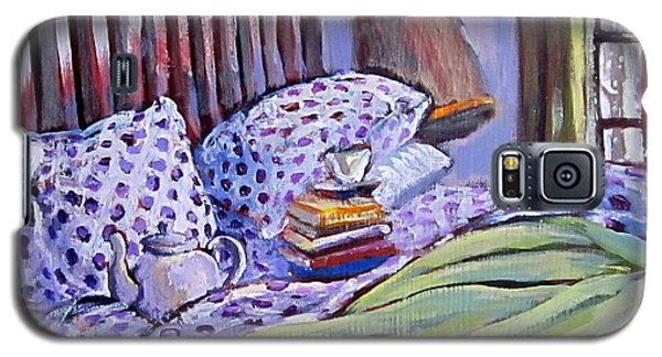 Bed And Books Galaxy S5 Case