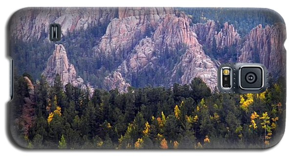 Galaxy S5 Case featuring the photograph Beginning Of Mountain Fall by Michelle Frizzell-Thompson
