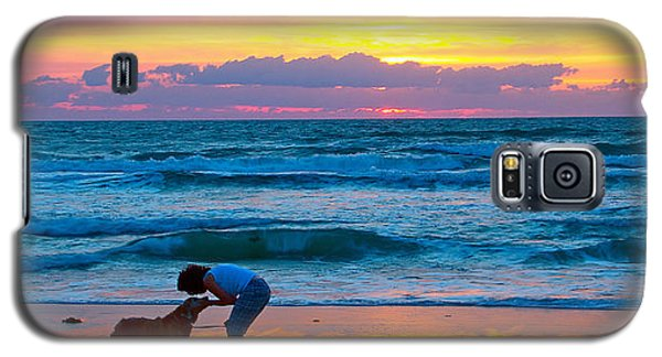 Galaxy S5 Case featuring the photograph Bella At Sunrise by Alice Gipson