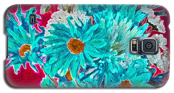 Galaxy S5 Case featuring the painting Beneath The Bouquet by Rita Brown