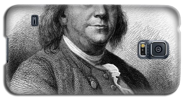 Galaxy S5 Case featuring the photograph Benjamin Franklin by International  Images