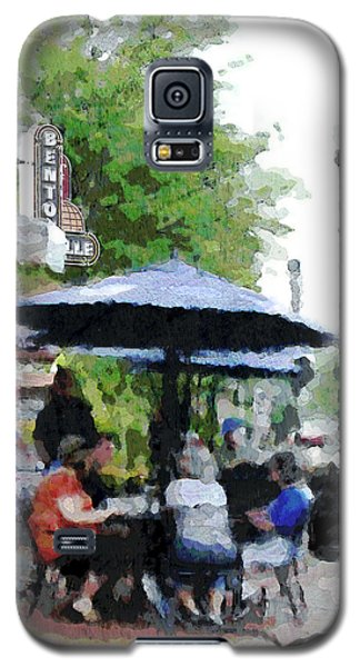 Bentonville On The Square Galaxy S5 Case by Ann Powell