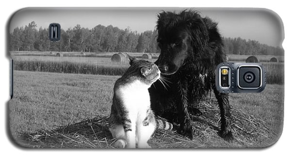 Best Buddies Black And White Galaxy S5 Case