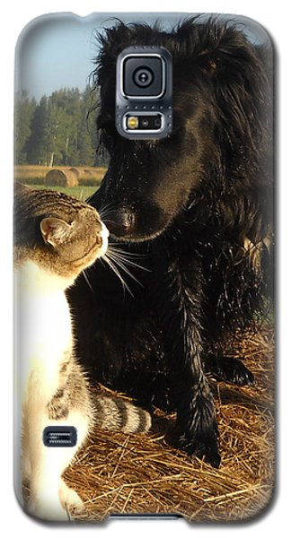 Best Buddies Portrait Galaxy S5 Case
