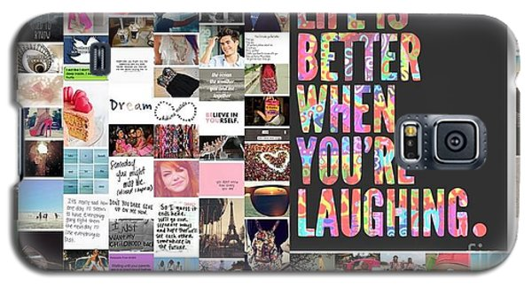 Galaxy S5 Case featuring the photograph Better To Laugh by Holley Jacobs