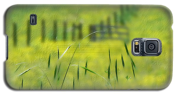 Galaxy S5 Case featuring the photograph Beyond The Weeds by EricaMaxine  Price