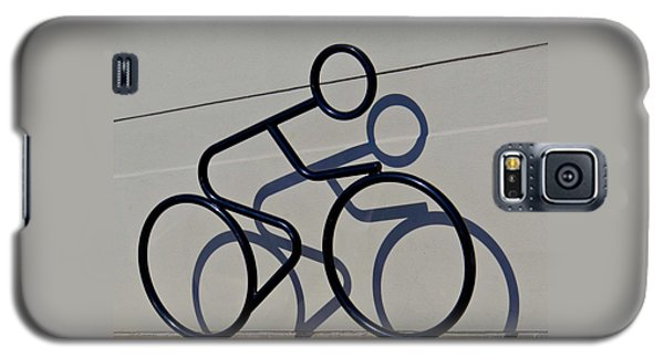 Bicycle Shadow Galaxy S5 Case