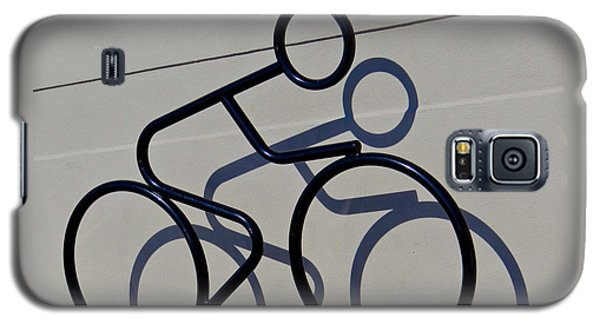 Bicycle Shadow Galaxy S5 Case by Julia Wilcox