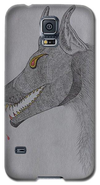 Big Bad Wolf Galaxy S5 Case by Gerald Strine