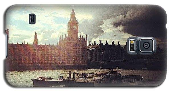 London Galaxy S5 Case - Big Ben by Samuel Gunnell