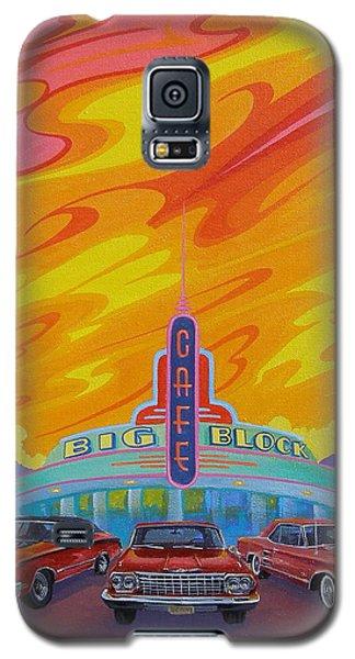 Big Block Cafe Galaxy S5 Case
