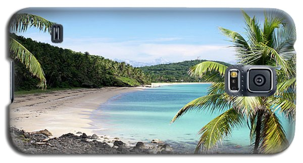 Big Corn Island Beach Nicaragua Galaxy S5 Case by John  Mitchell