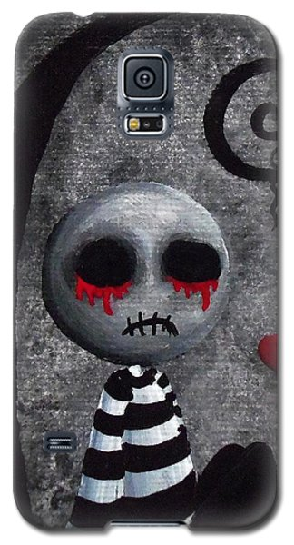 Big Juicy Tears Of Blood And Pain 2 Galaxy S5 Case by Oddball Art Co by Lizzy Love