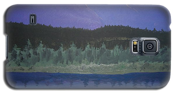 Galaxy S5 Case featuring the painting Big Sky Country by Norm Starks