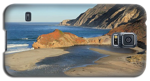 Galaxy S5 Case featuring the photograph Big Sur by Scott Rackers